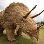 مجسمه های جالب کاهی در ژاپن